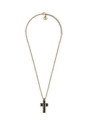Gucci Necklace with small cross - Gold