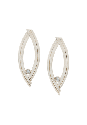 Charlotte Valkeniers Eclipse stud earrings - Silver