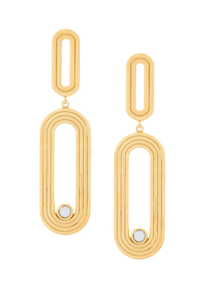 Charlotte Valkeniers Pilot earrings - Metallic