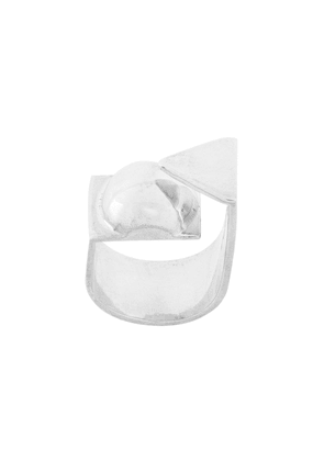 Coup De Coeur Graphic Two Layer ring - Metallic