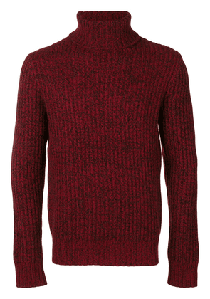Theory roll neck sweater - Red