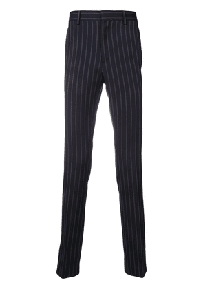 Calvin Klein 205W39nyc classic pinstriped trousers - Blue