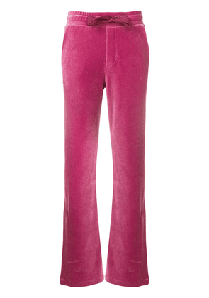 Moncler brand track trousers - Pink