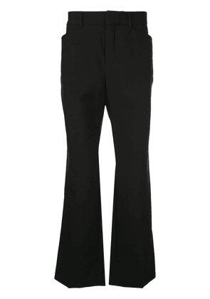 Saint Laurent flared trousers - Black