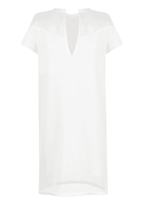 Gloria Coelho Armadura shift dress - White