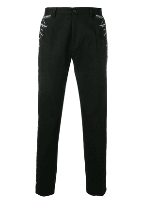 Dolce & Gabbana tailored fitted trousers - Black