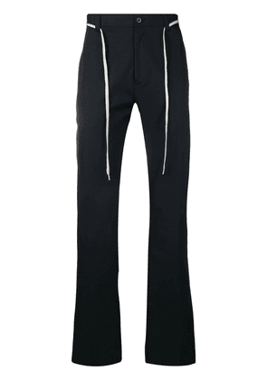 Lanvin belted chino trousers - Blue