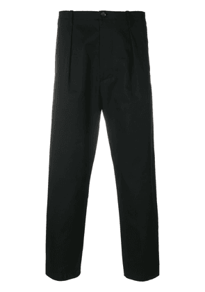 Valentino straight leg cropped trousers - Black
