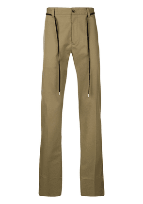 Lanvin belted chino trousers - Neutrals