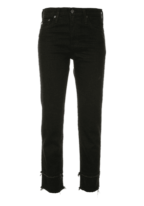Ag Jeans Isabelle straight jeans - Black