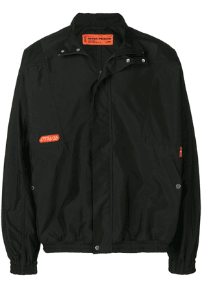 Heron Preston zipped windbreaker - Black