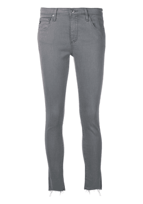 Ag Jeans frayed skinny jeans - Grey
