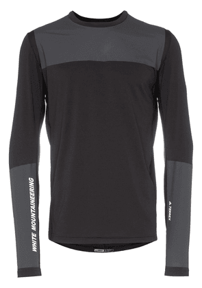 Adidas By White Mountaineering Agravic panelled top - Black