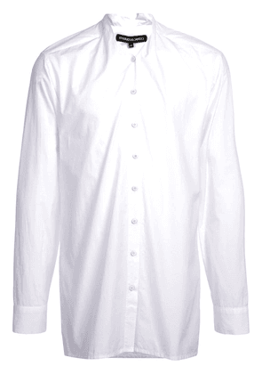 Cedric Jacquemyn elongated shirt - White