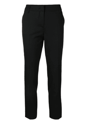 Dorothee Schumacher stripe detail cropped trousers - Black