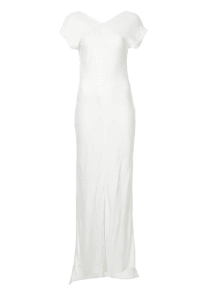 Christopher Esber Balfour Magyar column dress - White