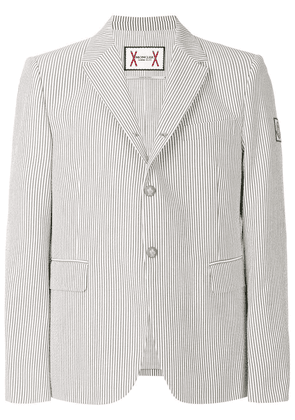 Moncler classic fitted blazer - Grey
