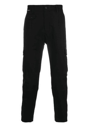 Dolce & Gabbana cropped cargo trousers - Black