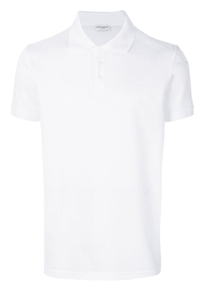 Saint Laurent short sleeve polo shirt - White