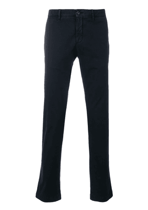 Moncler classic chino trousers - Blue