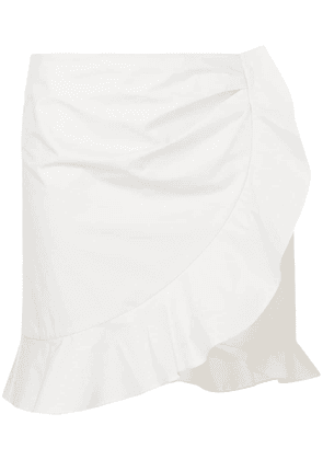Isabel Marant Mouna ruffle mini skirt - White