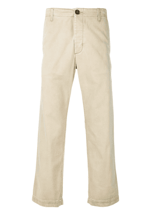Gucci cropped chino trousers - Neutrals