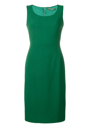 Dolce & Gabbana fitted pencil dress - Green