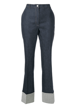 Bottega Veneta dark navy denim pant - Blue