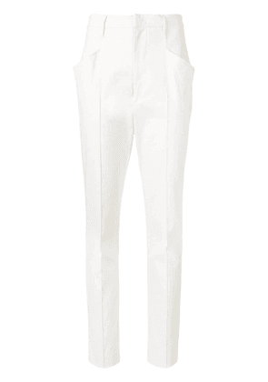 Isabel Marant straight leg trousers - Neutrals