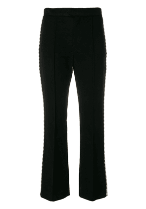 Isabel Marant Philea cropped rhinestone trousers - Black