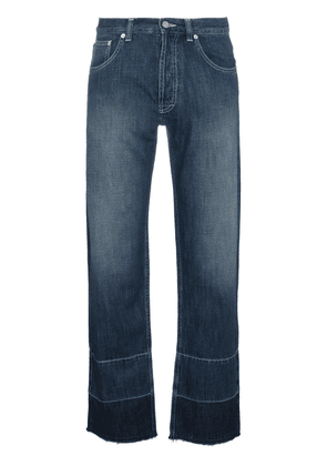 Loewe phone embroidered jeans - Blue