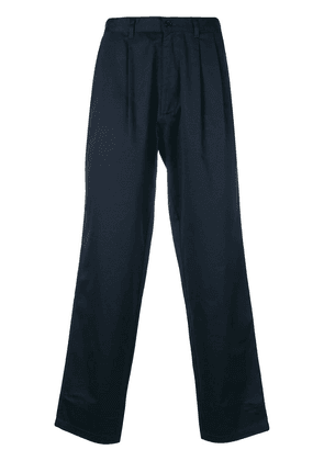 E. Tautz pleated chinos - Blue