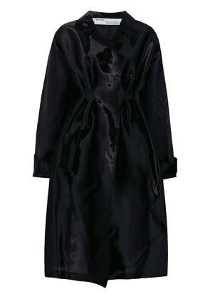 Off-White coated trench coat - Black