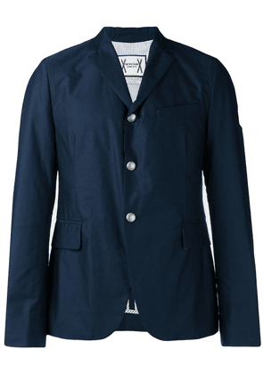 Moncler straight-fit blazer - Blue