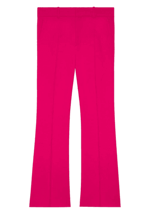 Gucci Viscose ankle length bootcut trousers - Pink