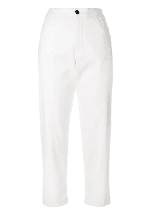 Barena cropped trousers - White