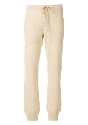 Barrie Romantic Timeless cashmere jogging trousers - Neutrals