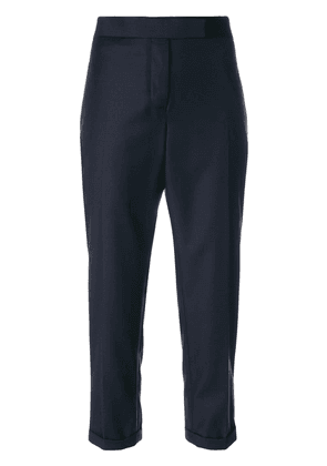 Thom Browne cropped tailor trousers - Blue