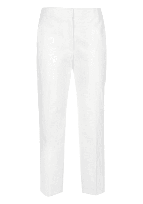 Thom Browne cropped tailored trousers - White
