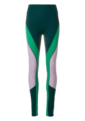 Isabel Marant panelled leggings - Green