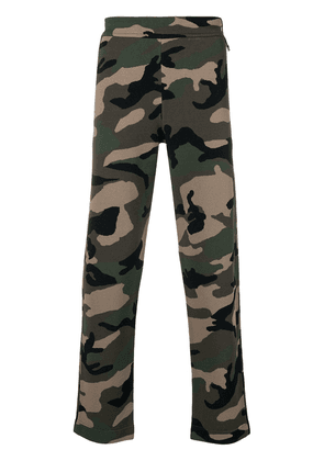 Valentino always camouflage track pants - Green