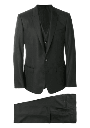 Dolce & Gabbana three piece formal suit - Black