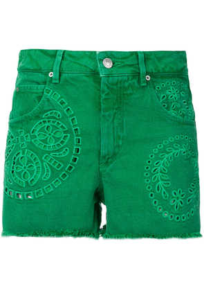 Isabel Marant Reverson shorts - Green