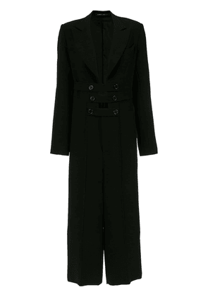 Gloria Coelho tailored jumpsuit - Black