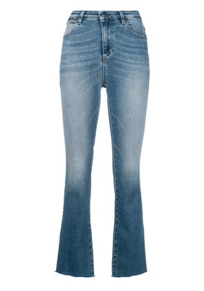 Acynetic flared cropped jeans - Blue