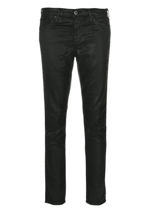 Ag Jeans coated skinny jeans - Green