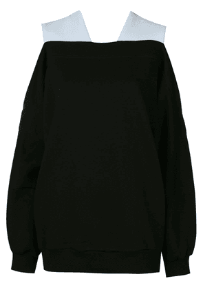 Ioana Ciolacu oversized knit jumper - Black