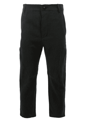 Cedric Jacquemyn cropped trousers - Black