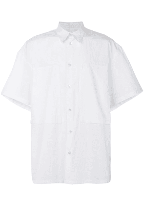 E. Tautz short-sleeved Lineman shirt - White