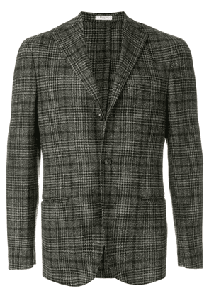 Boglioli classic checked suit jacket - Brown